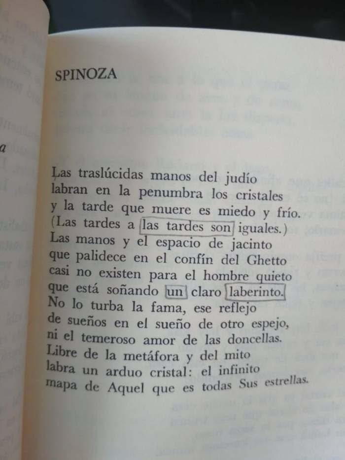 Borges by four